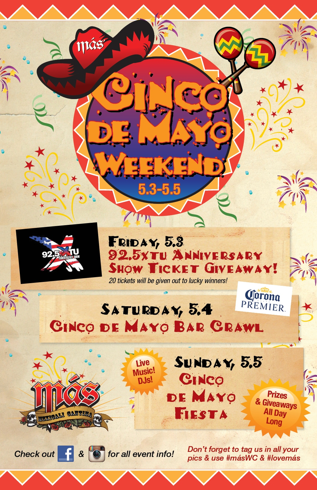Cinco de Mayo Weekend Poster 2019