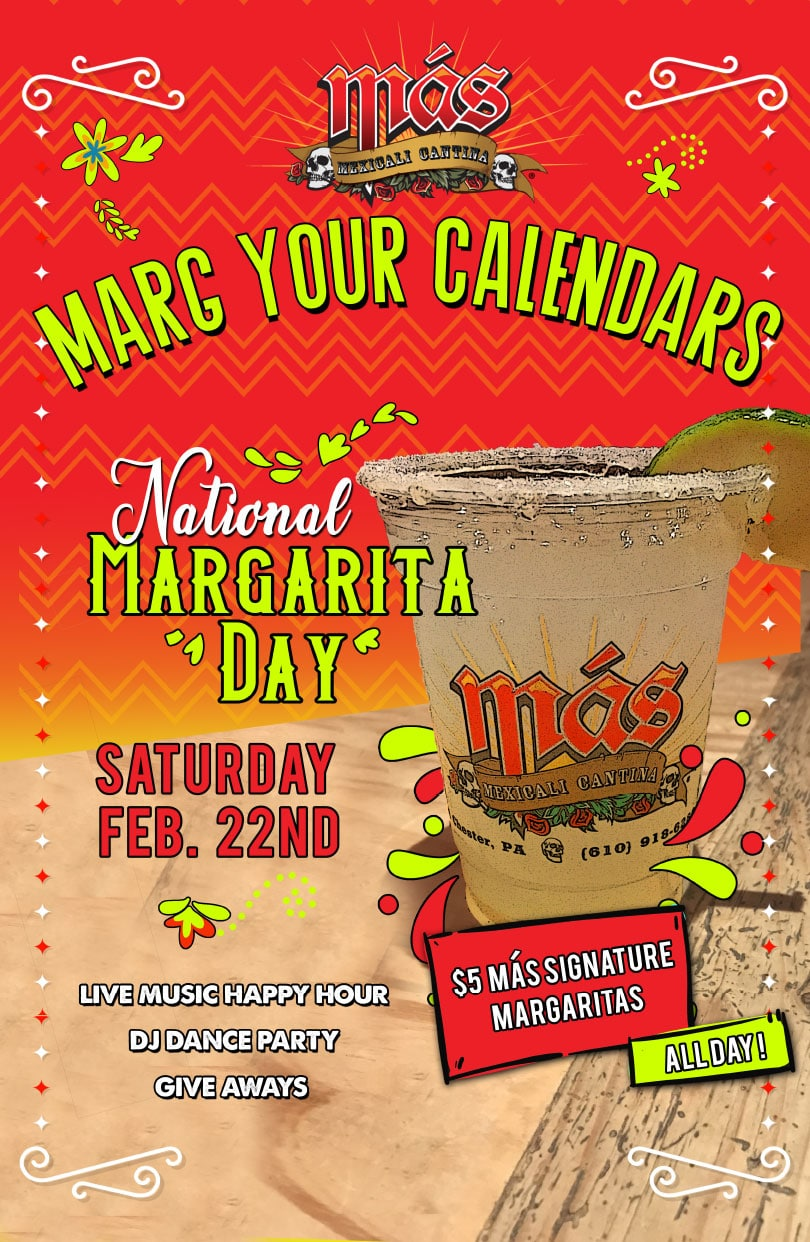 Más National Margarita Day 2020
