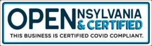 Open & Certified Pennsylvania